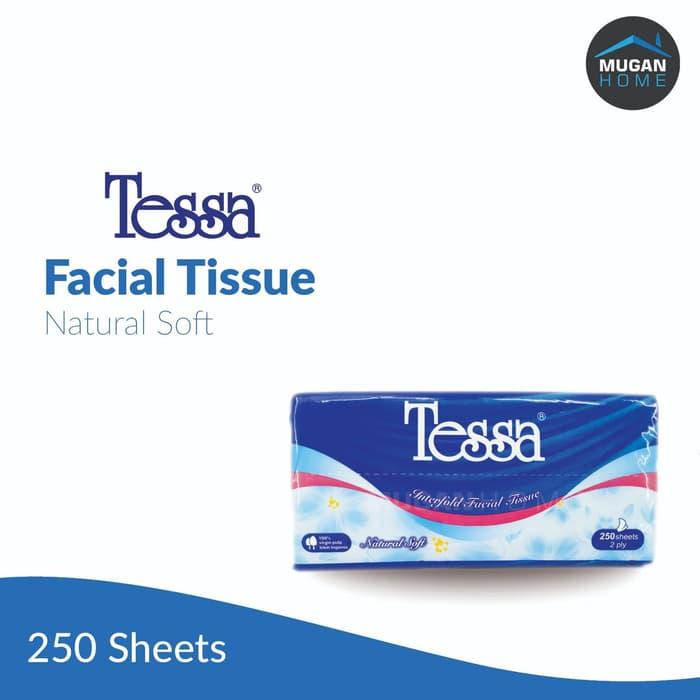 TESSA  FACIAL NATURAL SOFT 250SHEETS